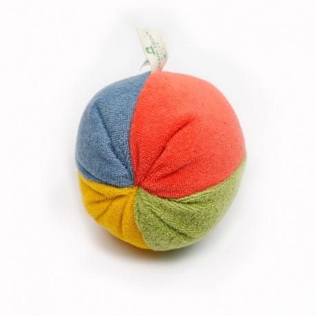 Frotteball mit Rassel organic