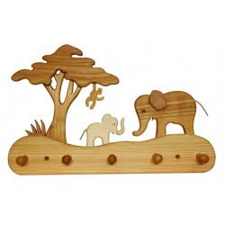 Kinder-Garderobe Elefant