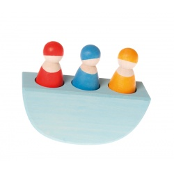 3 Freunde im Boot