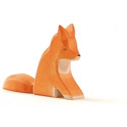 Ostheimer Fuchs groß sitzend