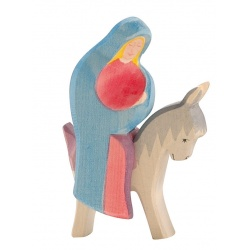 Ostheimer Maria auf Esel