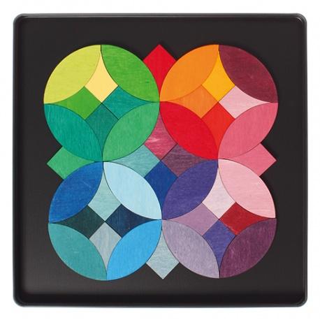 Magnetspiel Kreise