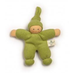 Püppchen Pimpel grün - organic