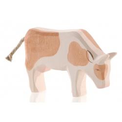 Ostheimer Kuh braun fressend