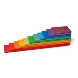 Regenbogen Bauplatten