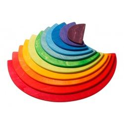 Regenbogen Halbkreise
