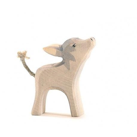 Ostheimer Esel klein Kopf hoch