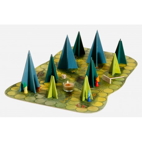 Das märchenhafte Waldschattenspiel