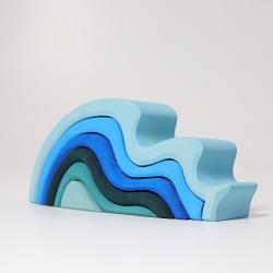 Stapelspiel Wasserwellen