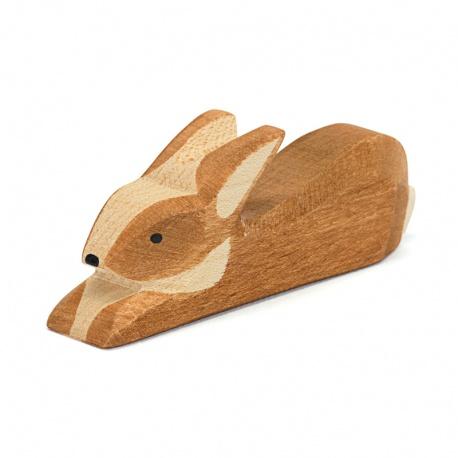 Ostheimer Hase braun gefleckt liegend