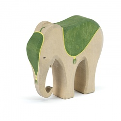 Elefant mit Sattel