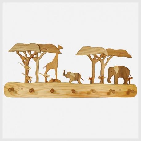 Kinder-Garderobe Afrika