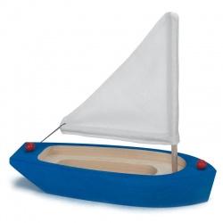 Segelschiff blau