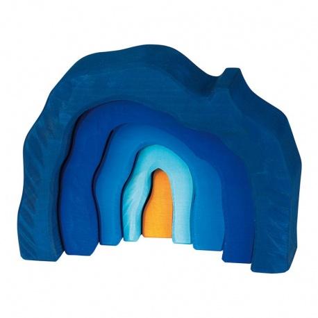 Höhlen-Set blau